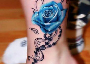 hình xăm hoa hồng cho nữ mệnh mộc